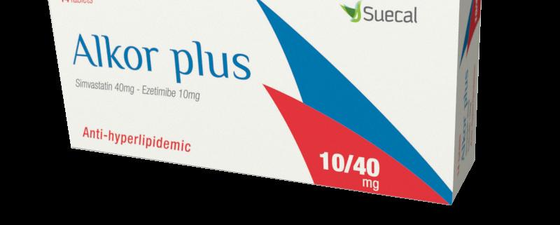 Alkor Plus 10-40 mg 14 tablets box