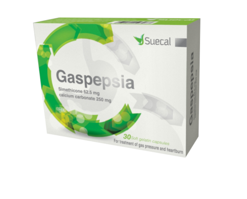 Gaspepsia 30 Capsules box