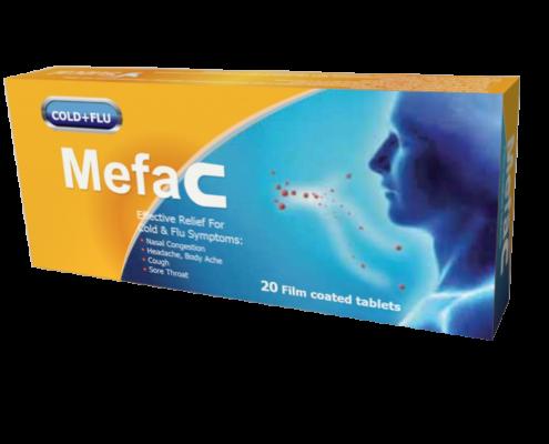 Mefac 20 tablets F box